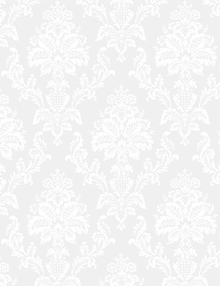 STELLA-P1623/WHITE / DAMASK
