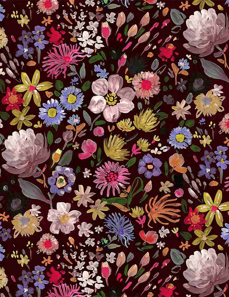WSTELLA-PAW1571 / MULTI / AUTUMN FLORAL