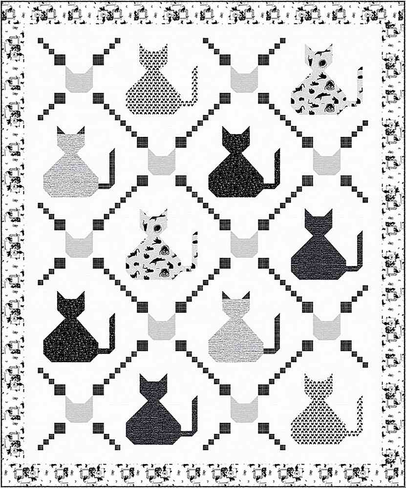 PROJECTS / LES CHATS NOIRS-CHAT & CHARMED