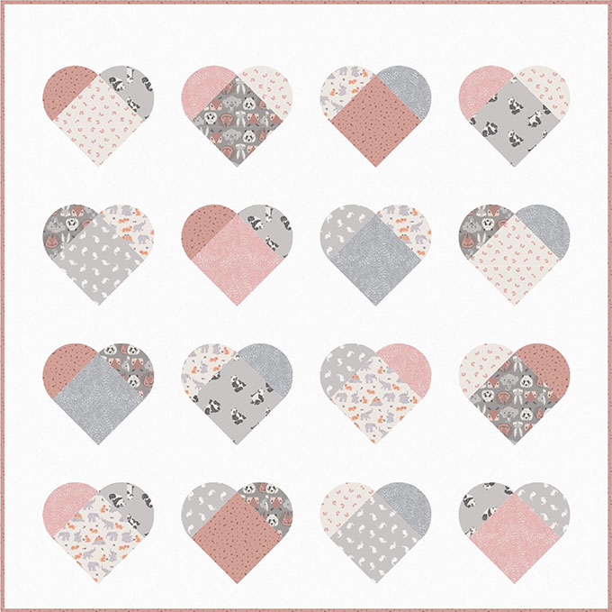 PROJECTS / NEW HERE - LOVE & STITCHES