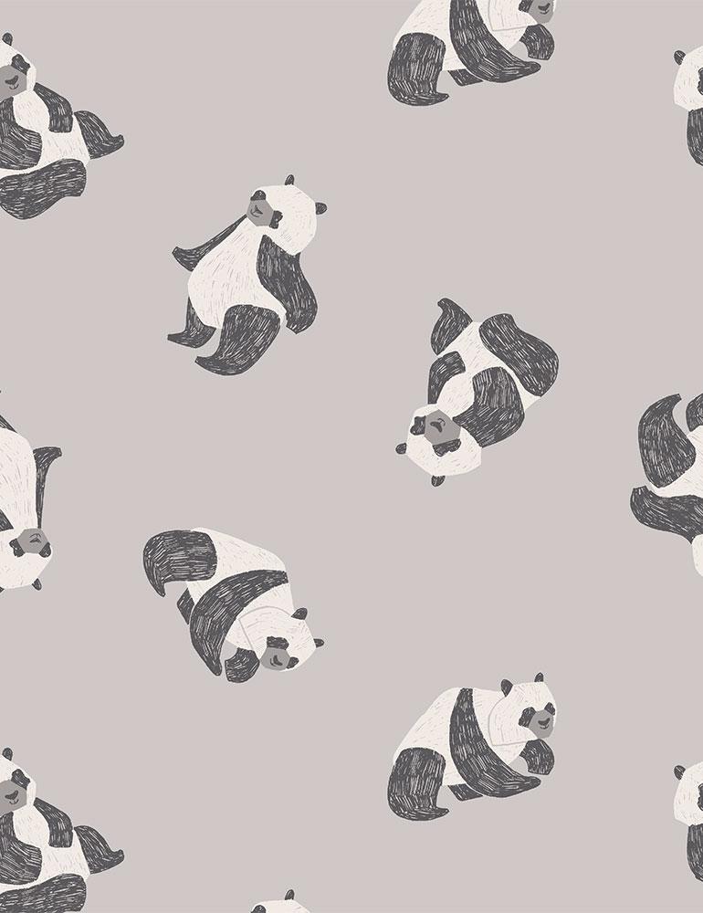 STELLA-FRR1682 FOG ANIMALS/BUGS FLANNEL NOVELTY RAE RITCHIE 2021 WINTER NEW HERE [FLANNEL]-RABBIT HOLES
