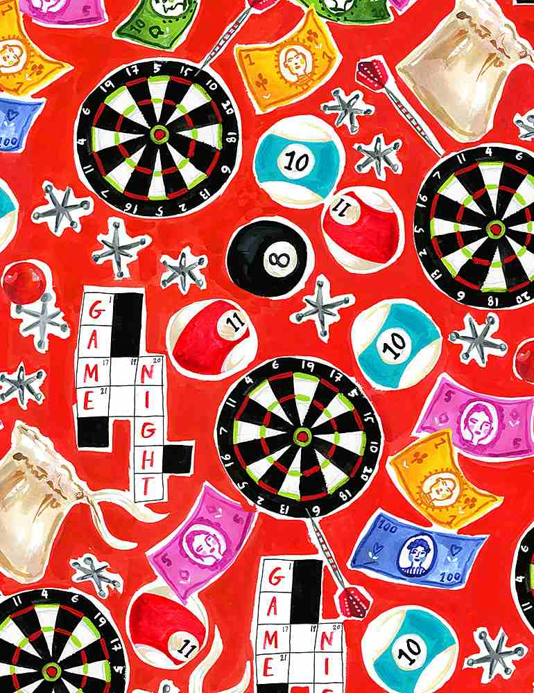 STELLA-DJL1969/SCARLET / GAMENIGHT